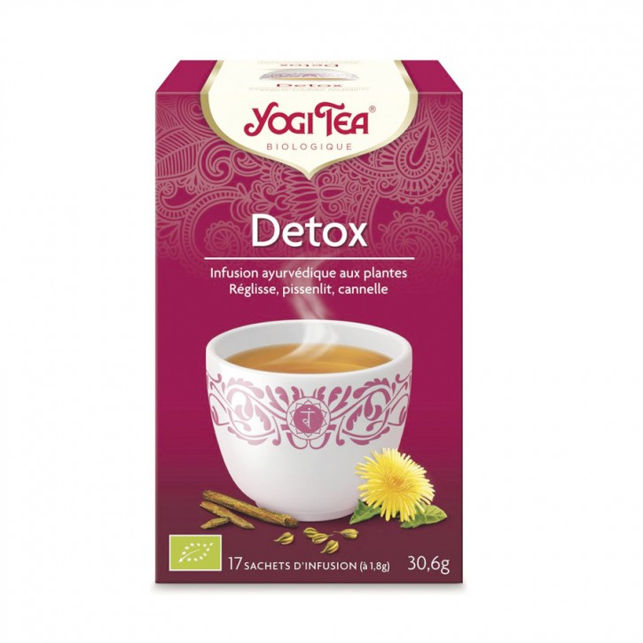 Feel pure (vorm. Detox) Tee 17 Beutel Yogi Tea