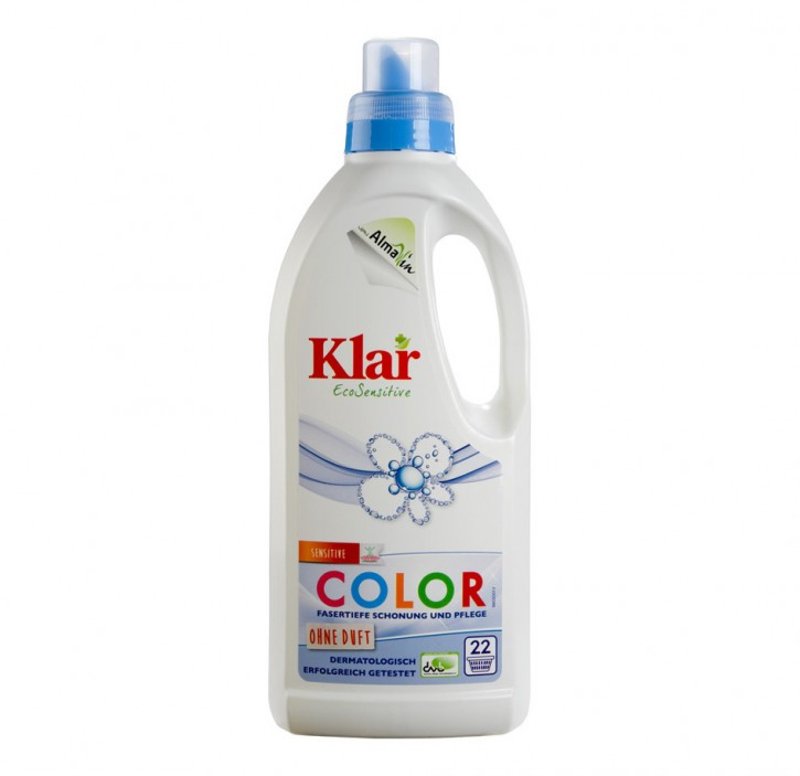 Klar Basiswaschmittel Sensitive Color 1l