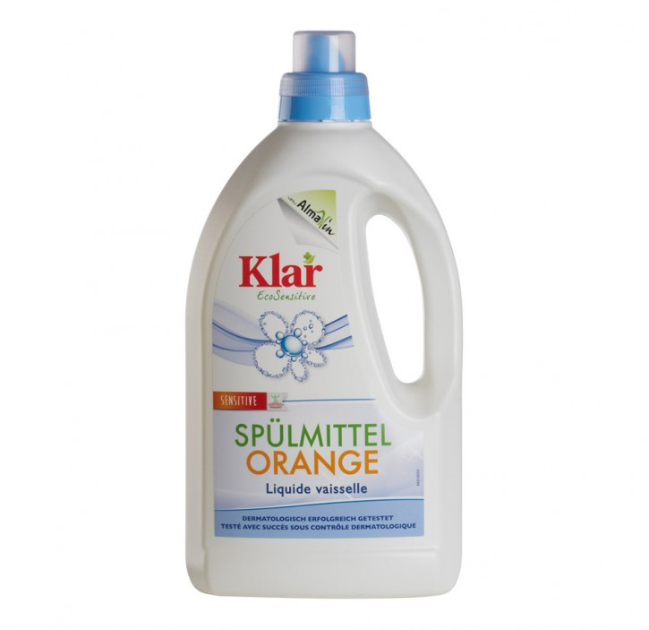 Klar SPÜLMITTEL orange sensitiv 1,5l