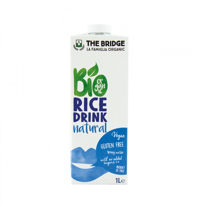Bridge BIO REISDRINK NATUR 1000ml