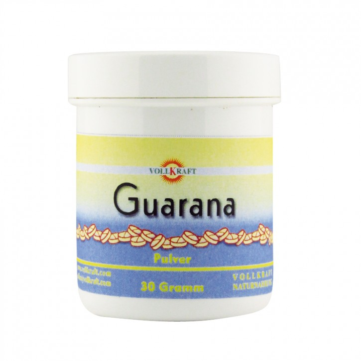 Guarana Pulver 30g Vollkraft