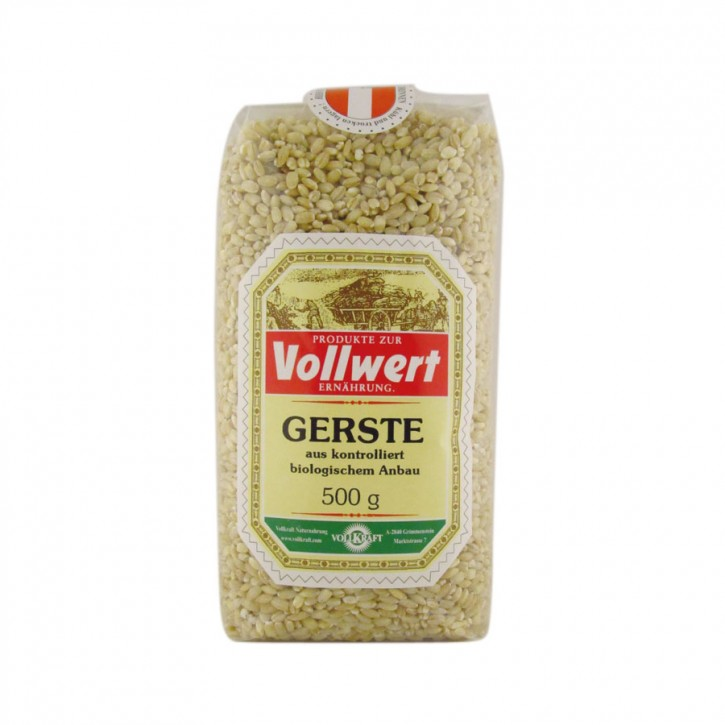 Gerste bio 500g Vollkraft