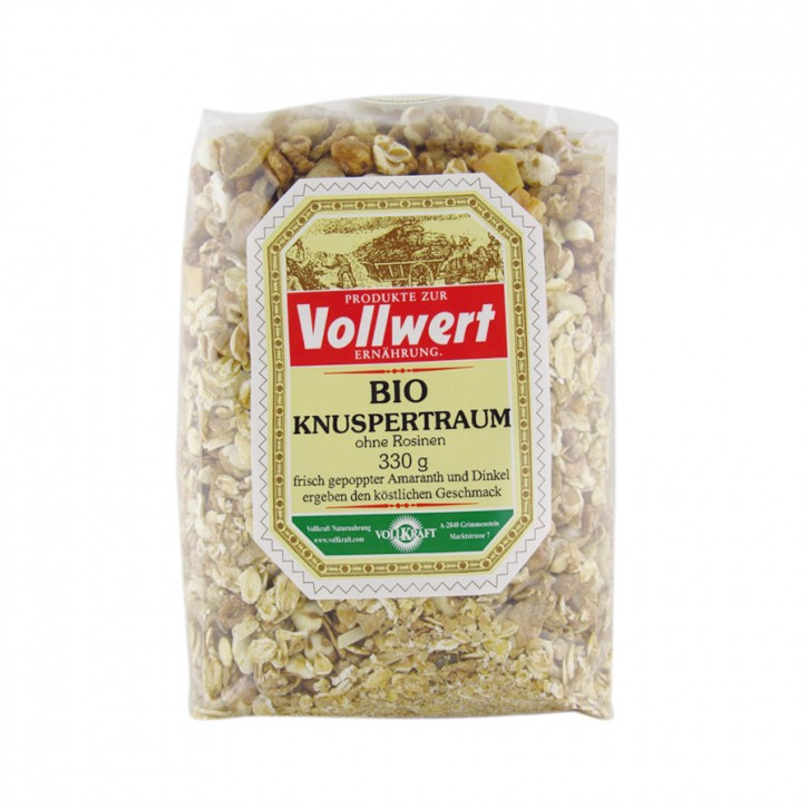 Bio Knuspertraum 330g Vollkraft