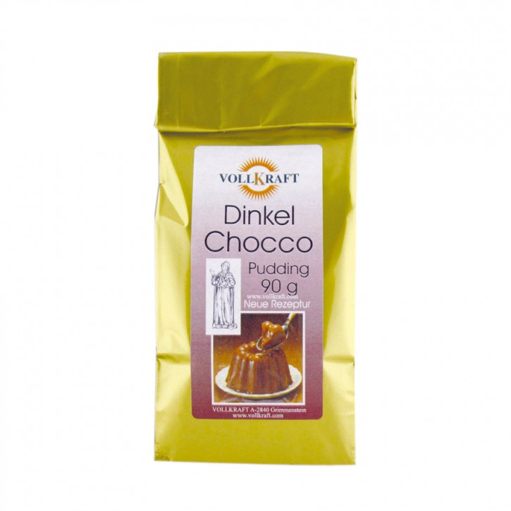 Dinkel Chocco Pudding (Schokopudding) 90g Vollkraft