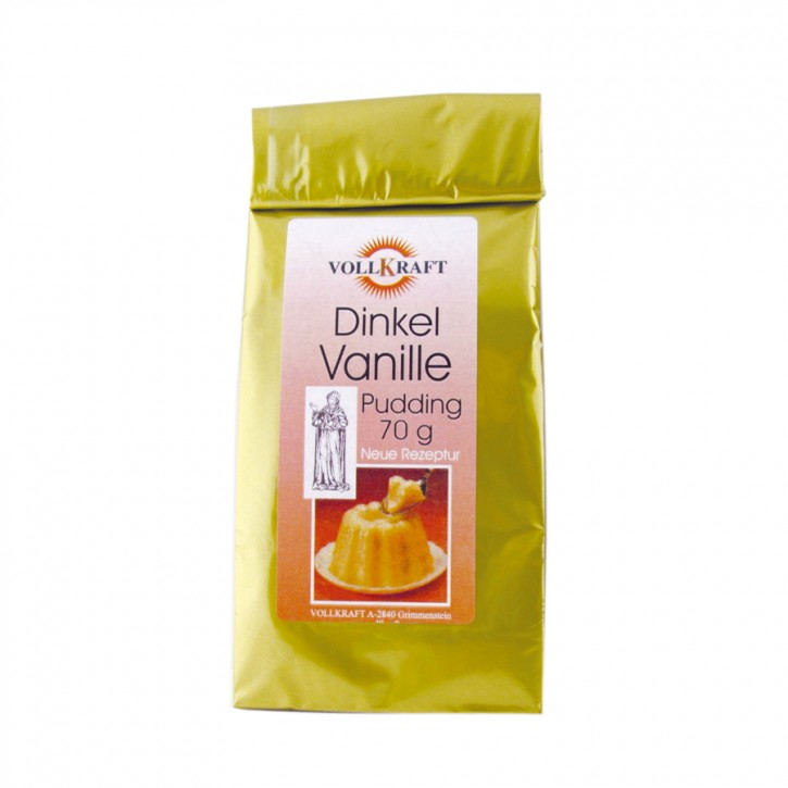 Dinkel Vanille Pudding 70g Vollkraft