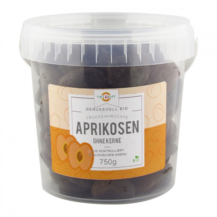 Bio Aprikosen Box 750g Vollkraft