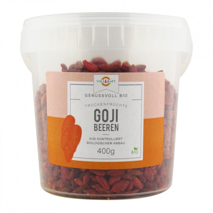 Bio Goji Beeren Box 400g Vollkraft