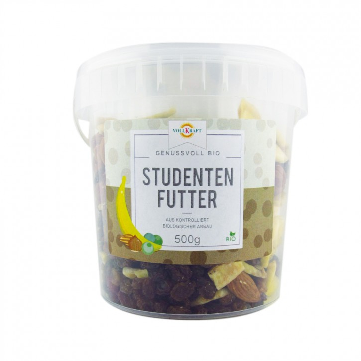 Box Studentenfutter bio 500g Vollkraft