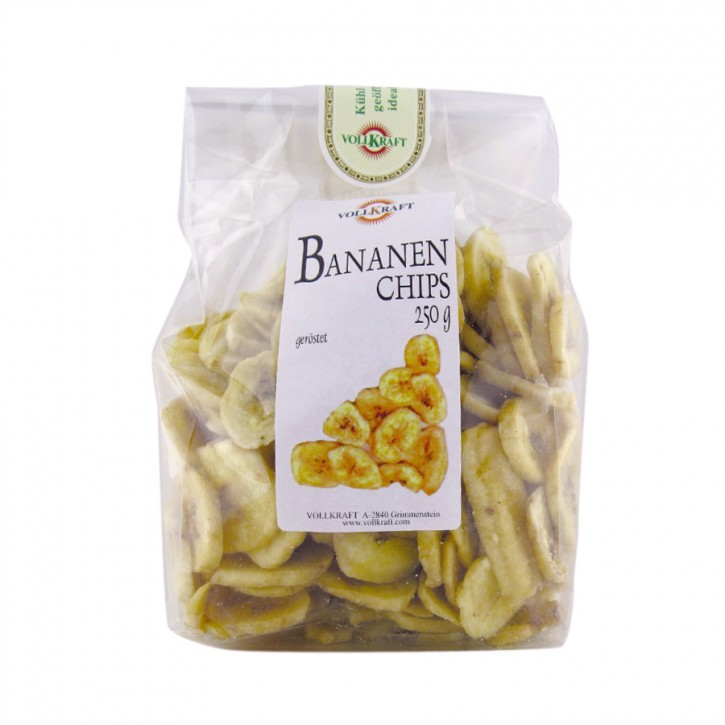 Bananenchips 250g Vollkraft