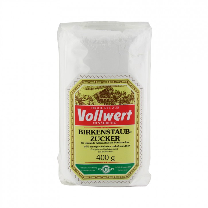 Birkenstaubzucker 400g Vollkraft