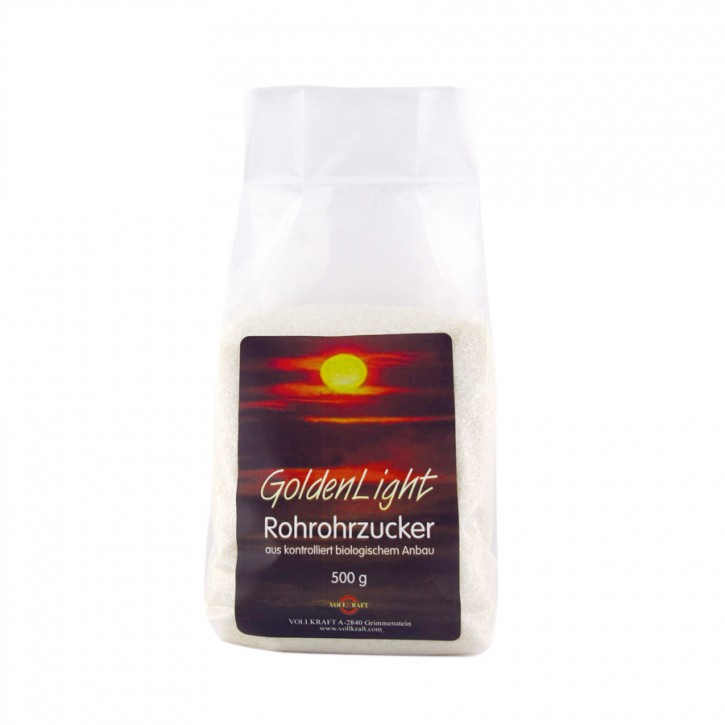 Golden Light Rohrohrzucker bio 500g Vollkraft