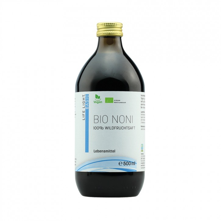 Noni Bio Wildfruchtsaft 500ml Life Light