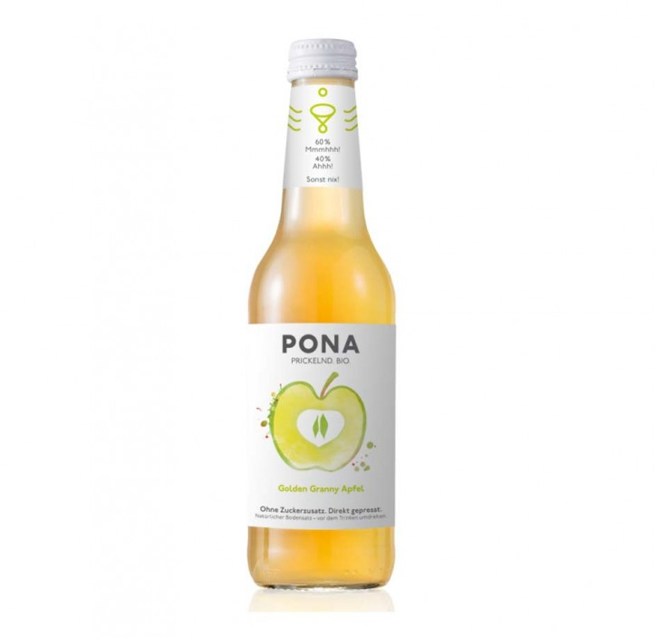 PONA Golden Granny Apfel Bio 330ml